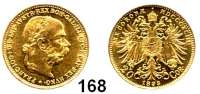 Österreich - Ungarn,Habsburg - Lothringen Franz Josef I. 1848 - 191620 Kronen 1893.  (6,09g fein).  Frühwald 1925.  KM 2806.  Fb. 504.  GOLD