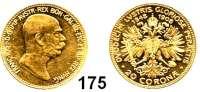 Österreich - Ungarn,Habsburg - Lothringen Franz Josef I. 1848 - 191620 Kronen 1908.  (6,09g fein).  60jähriges Regierungsjubiläum.  Frühwald 2183.  Schön 14.  KM 2811.  Fb. 515.  GOLD