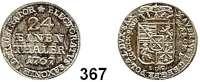 Deutsche Münzen und Medaillen,Sachsen Prinz Xaver 1763 - 1768 1/24 Taler 1767 EDC, Dresden.  2,03 g.  Kahnt 1027.  Buck 51.
