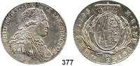 Deutsche Münzen und Medaillen,Sachsen Friedrich August III. 1763 - 1806 (1827) Konventionstaler 1796 IEC, Dresden.  28,06 g.  Kahnt 1089.   Buck 198.  Dav. 2703.