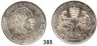 Deutsche Münzen und Medaillen,Sachsen Friedrich August II. 1836 - 1854 Taler (Sterbetaler) 1854 F, Dresden, zu seinem Begräbnis.  Kahnt 452.  Thun 329.   AKS 117.  Jg. 94.  Dav. 881.