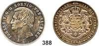 Deutsche Münzen und Medaillen,Sachsen Johann 1854 - 1873 Vereinstaler 1861 B, Dresden.  Kahnt 470.  Thun 348.   AKS 137.  Jg. 126.   Dav. 895.