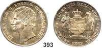 Deutsche Münzen und Medaillen,Sachsen Johann 1854 - 1873 Ausbeutevereinstaler 1869 B, Dresden.  Kahnt 472.  Thun 350.   AKS 135.  Jg. 128.  Dav. 897.