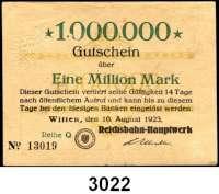P A P I E R G E L D   -   N O T G E L D,Reichsbahn L O T S     L O T S     L O T S LOT von 26 Reichsbahnnoten.  Dabei Altona(2), Hannover(6), Köln(8), Magdeburg(2), Münster(4), Stettin(2), Witten(2) Reichsbahn-Hauptwerk. Müller, Geiger, Grabowski  001.6, 7, 011.2b, 4, 6.1a, 7a, 11, 13a, 013.3, 4, 7, 10, 11, 13, 14, 16b, 015.1b, 4, 018.1a, 2, 15, 18, 020.6a, 11, 171.2, 9.