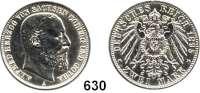 R E I C H S M Ü N Z E N,Sachsen - Coburg und Gotha Alfred 1893 - 1900 2 Mark 1895.