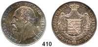 Deutsche Münzen und Medaillen,Sachsen - Meiningen Bernhard II. Erich Freund 1803 - 1866 Taler 1866, München.  Kahnt 505.  Thun 379.  AKS 184.  Jg. 450.  Dav. 838.