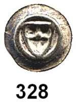 Deutsche Münzen und Medaillen,Deutscher Orden Anonym 14. Jahrhundert Hohlpfennig.  0,22 g.  Ordensschild.  Neumann 1 d.