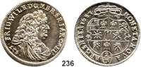 Deutsche Münzen und Medaillen,Brandenburg - Preußen Friedrich Wilhelm der Große Kurfürst 1640 - 1688 2/3 Taler 1683  LCS, Berlin.  19,25 g.  v.S. 290 var..  Dav. 248.