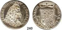 Deutsche Münzen und Medaillen,Brandenburg - Preußen Friedrich III. (I.) 1688 - 1701 (1713) 2/3 Taler 1693  ICS, Magdeburg.  17,24 g.  v.S. 174.  Dav. 273.