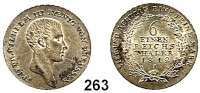 Deutsche Münzen und Medaillen,Preußen, Königreich Friedrich Wilhelm III. 1797 - 1840 1/6 Taler 1812 A.  AKS 24.  Jg. 31.  Old. 110.