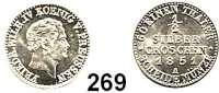 Deutsche Münzen und Medaillen,Preußen, Königreich Friedrich Wilhelm IV. 1840 - 1861 1/2 Silbergroschen 1851 A.  AKS 87.  Jg. 65.  Old. 323.