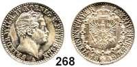 Deutsche Münzen und Medaillen,Preußen, Königreich Friedrich Wilhelm IV. 1840 - 1861 1/6 Taler 1849 A.  AKS 80.  Jg. 72.  Old. 311.