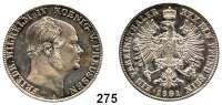 Deutsche Münzen und Medaillen,Preußen, Königreich Friedrich Wilhelm IV. 1840 - 1861 Taler 1861 A.  Sterbetaler.  Kahnt 379.  Thun 262.  AKS 78.  Jg. 84.  Dav. 775.