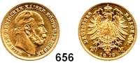 R E I C H S M Ü N Z E N,Preussen, Königreich Wilhelm I. 1861 - 1888 20 Mark 1873 B.