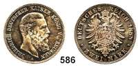 R E I C H S M Ü N Z E N,Preussen, Königreich Friedrich III. 1888 2 Mark 1888.
