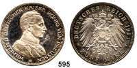 R E I C H S M Ü N Z E N,Preussen, Königreich Wilhelm II. 1888 - 1918 5 Mark 1913.  Kürassier.