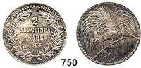 Besetzte Gebiete  -  Kolonien  -  Danzig,Deutsch - Neuguinea  2 Mark 1894 A.