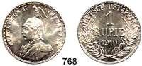 Besetzte Gebiete  -  Kolonien  -  Danzig,Deutsch - Ostafrika  1 Rupie 1910 J.