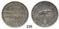 Deutsche Münzen und Medaillen,Anhalt - Bernburg Alexander Karl 1834 - 1863 Ausbeutevereinstaler 1855 A, Berlin.  Kahnt 4.  Thun 3.   AKS 16.  Jg. 66.  Dav. 504.