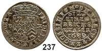 Deutsche Münzen und Medaillen,Brandenburg - Preußen Friedrich III. (I.) 1688 - 1701 (1713) 1/12 Taler 1689 B-H, Minden.  3,53 g.  Vgl. v.S. 566. (Jahreszahl im Stempel geändert).