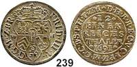 Deutsche Münzen und Medaillen,Brandenburg - Preußen Friedrich III. (I.) 1688 - 1701 (1713) 1/12 Taler 1691 W-H, Emmerich.  3,61 g.  v.S. 604.