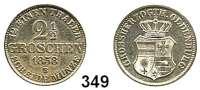 Deutsche Münzen und Medaillen,Oldenburg Nikolaus Friedrich Peter 1853 - 1900 2 1/2 Groschen 1858 B.  AKS 26.  Jg. 54.