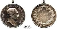 Deutsche Münzen und Medaillen,Sachsen Friedrich August III. 1904 - 1918 Silbermedaille o.J. (1905-1918, Max Barduleck).  Für Treue in der Arbeit.  Arnold 187.  27,9 mm.  11,82 g.
