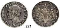 Deutsche Münzen und Medaillen,Anhalt - Bernburg Alexander Karl 1834 - 1863 Vereinstaler 1859 A, Berlin.  Kahnt 5.  Thun 5.   AKS 14.  Jg. 72.  Dav. 505.
