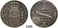 AUSLÄNDISCHE MÜNZEN,Brasilien Johann VI., König von Portugal (1799) 1818 - 1822 960 Reis 1816 R, Rio de Janeiro.  Überprägt auf spanischem 8 Reales-Stück.  Kahnt/Schön 32.  KM 307.3.