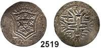 AUSLÄNDISCHE MÜNZEN,Indien Portugiesisch Indien Diu,  Rupia 1747.  KM 24.