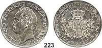 Deutsche Münzen und Medaillen,Anhalt - Dessau Leopold Friedrich 1817 - 1871 Vereinstaler 1863 A, Berlin,  Vereinigungstaler.  Kahnt 11.  Thun 11.  AKS 35.  Jg. 77.  Dav. 510.