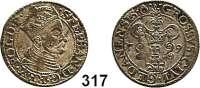 Deutsche Münzen und Medaillen,Danzig, Stadt Stephan Báthory 1577 - 1586 Groschen 1579.  1,75 g.  Dutkowski/Suchanek 130.