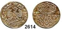 AUSLÄNDISCHE MÜNZEN,Polen Sigismund I. der Alte 1506 - 1548 Kron-Groschen 1546 S-T.  2,09 g.  Gum. 489.