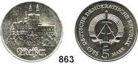 Deutsche Demokratische Republik   PP-Patina !!!!!, 5 Mark 1983.  Meißen.