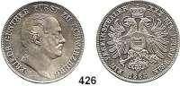 Deutsche Münzen und Medaillen,Schwarzburg - Rudolstadt Friedrich Günther 1807 - 1867 Vereinstaler 1863, München.  Kahnt 535.  Thun 395.  AKS 12.  Jg. 54.  Dav. 916.