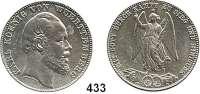 Deutsche Münzen und Medaillen,Württemberg, Königreich Karl 1864 - 1891 Siegestaler 1871, Stuttgart.  Kahnt 594.  Thun 443.  AKS 132.  Jg. 86.  Dav.962.