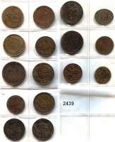 AUSLÄNDISCHE MÜNZEN,Frankreich L O T S     L O T S     L O T S 15 Bronzemedaillen des 19. Jahrhundert und eine Spottmünze Napoleon III.  LOT 16 Stück.