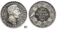 Deutsche Münzen und Medaillen,Baden - Durlach Karl Leopold Friedrich 1830 - 1852 Kronentaler 1836.  Zollverein.  Kahnt 28.  Thun 23.  AKS 87.  Jg. 51.  Dav. 523.