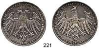 Deutsche Münzen und Medaillen,Frankfurt am Main Freie Stadt 1814 - 1866 Doppelgulden 1848.  Constituierende Versammlung.  Kahnt 175.  Thun 134.  AKS 38.  Jg. 45.  Dav. 643.
