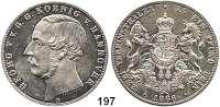 Deutsche Münzen und Medaillen,Braunschweig - Calenberg (Hannover) Georg V. 1851 - 1866 Vereinsdoppeltaler 1866 B.  Kahnt 245.  Thun 175.  AKS 143.  Jg. 97.  Dav. 683.