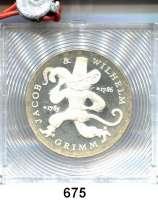 Deutsche Demokratische Republik,  20 Mark 1986.  Gebrüder Grimm.