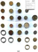 B U N D E S R E P U B L I K,Verprägungen und Kuriositäten  2 Euro-Schrötling Niederlande; 2 Euro-Schrötling mit Sternen und gegenläufigen