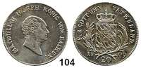 Deutsche Münzen und Medaillen,Bayern Maximilian I. Josef (1799) 1806 - 1825 20 Kreuzer 1809.  AKS 50.  Jg. 11.