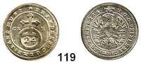 Deutsche Münzen und Medaillen,Brandenburg - Bayreuth Friedrich 1735 - 1763 1/24 Taler 1753 CLR.  1,88 g.  Slg. Wilm. 774.  Schön 82.