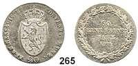 Deutsche Münzen und Medaillen,Nassau Friedrich August und Friedrich Wilhelm 20 Kreuzer 1809 L.  AKS 3.  Jg. 10 b.