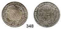 Deutsche Münzen und Medaillen,Straßburg, Bistum Ludwig Konstantin von Rohan 1756 - 1779 10 Kreuzer 1773, Günzburg.  3,62 g.  Schön 11.