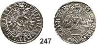 Deutsche Münzen und Medaillen,Lübeck, Stadt Ferdinand II. 1619 - 1637 1/8 Taler 1622.  3,60 g.  Behrens 279.