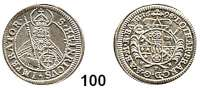 Deutsche Münzen und Medaillen,Bamberg, Bistum Lothar Franz von Schönborn 1693 - 1729 4 Kreuzer 1698.  2,10 g.  Schön 2.