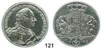 Deutsche Münzen und Medaillen,Brandenburg - Ansbach Karl Wilhelm Friedrich 1729 - 1757 2/3 Taler 1753 ISG, Schwabach.  13,66 g.  Slg. Wilm. 1023.  Schön 63.