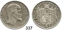 Deutsche Münzen und Medaillen,Schleswig - Holstein, königliche Linie Friedrich VII. von Dänemark 1848 - 1863 Rigsbankdaler (30 Schilling) 1851, Kopenhagen.  Kahnt 532.  AKS 20.  Jg. S. 190.  Sieg 5.  Hede 5.